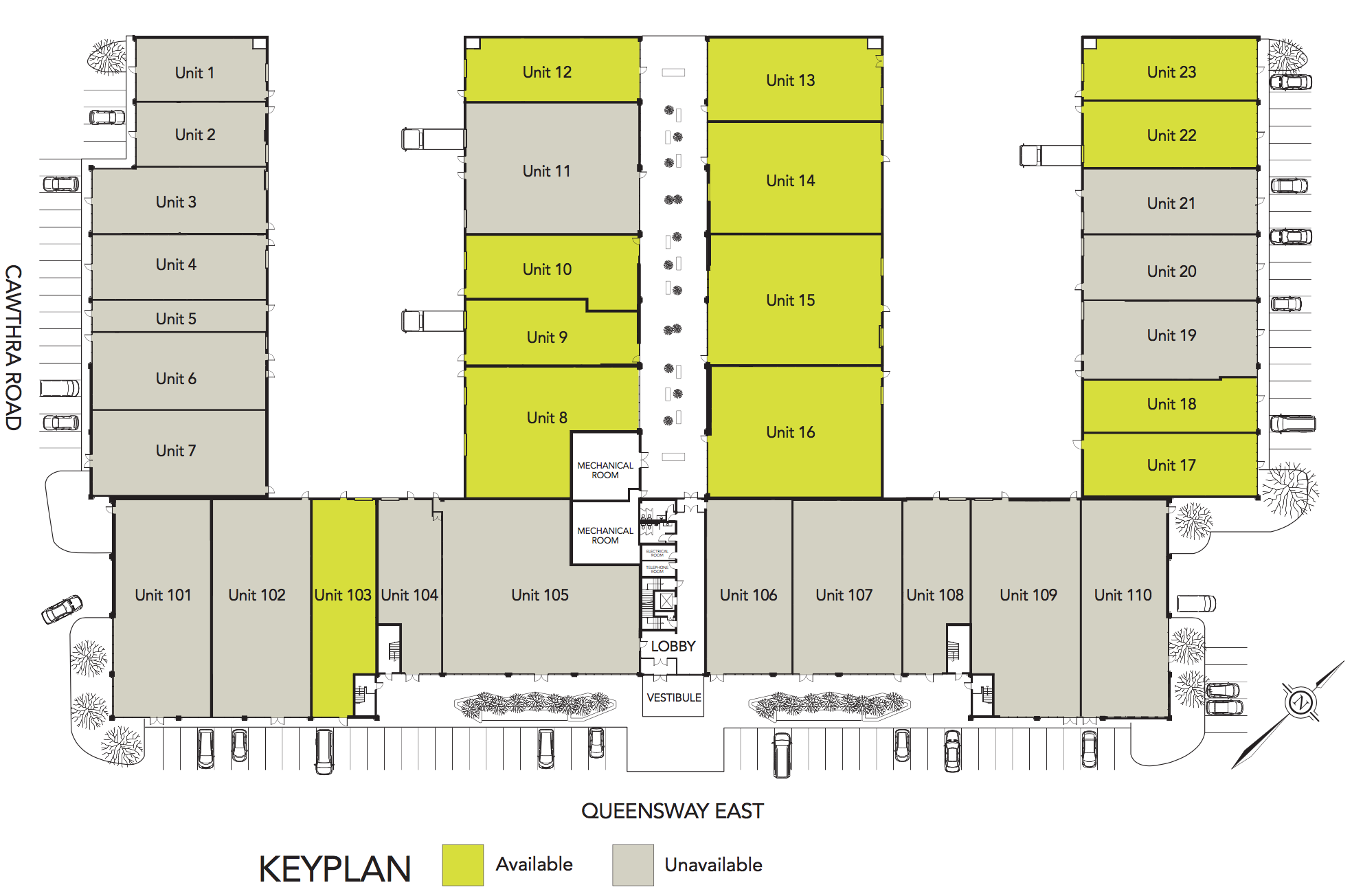 Q755 Industrial Floor Plan Availability